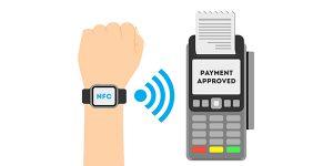 bill payments through Smart watch