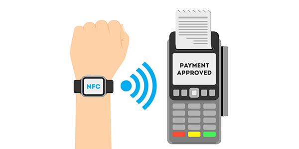 bill payments through Smart watch