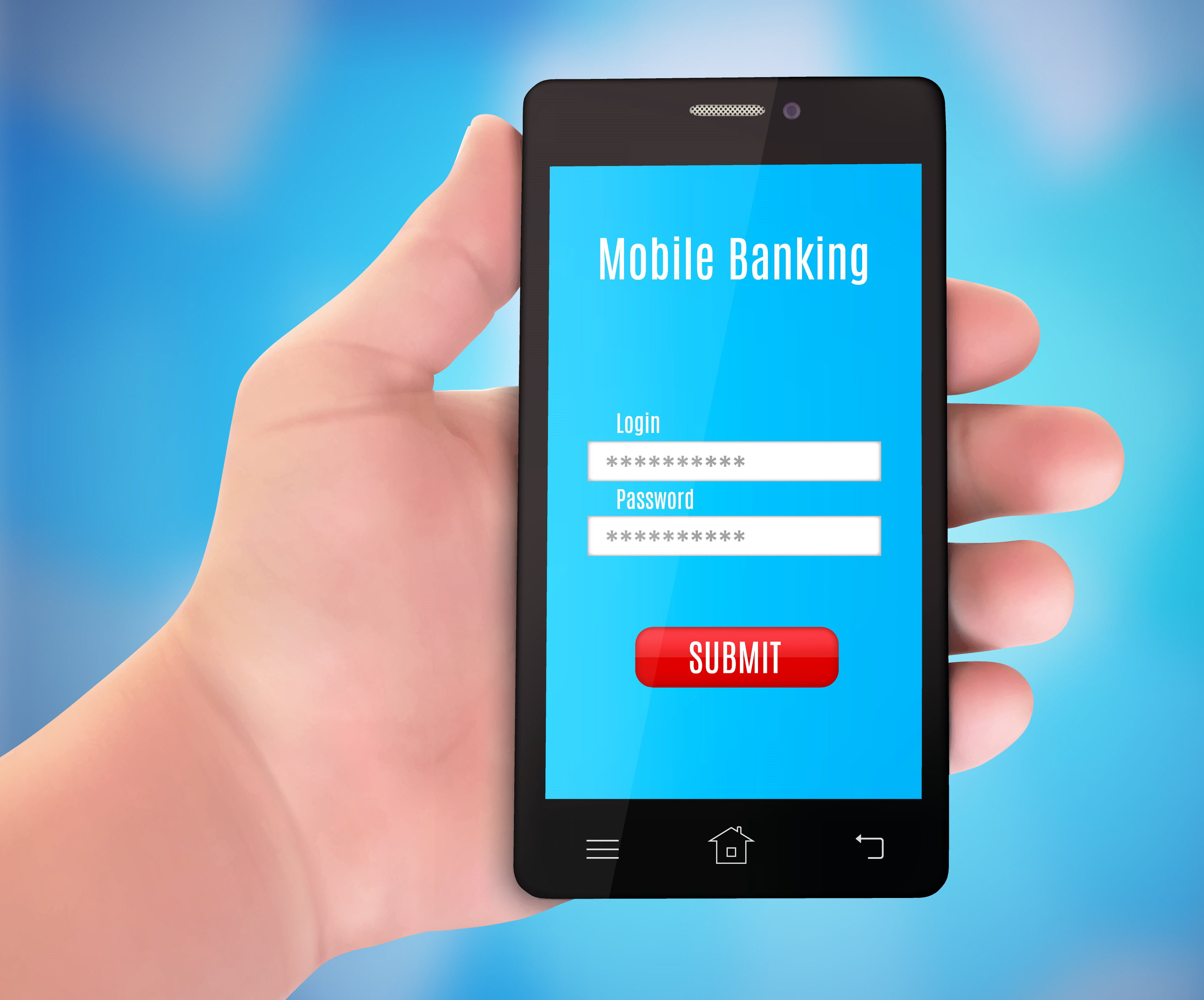 Mobile banking service
